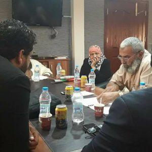 اجتماع لوكيل عام وزارة الصحة بالحكومة المؤقتة بمركز طبرق الطبي
