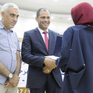 تكريم الطلبة الأوائل ضمن فعاليات المخيم (16) للمتفوقين والمواهب