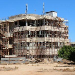 حملة نظافة شاملة داخل جامعة بنغازي بنغازي