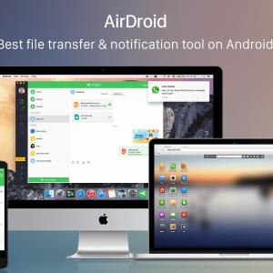 تَطبيق AirDroid للتِحكم الكَامل بهاتفك يَصل للأيفُون والأيباد