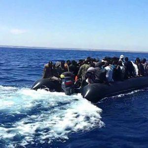 إنقاذ 100 مهاجر غير شرعي قبالة منطقة صيَّاد