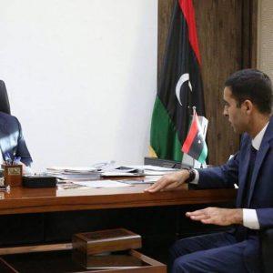 «معيتيق» يلتقي رئيس إدارة الهيئة الوطنية للتعليم التقني و الفني