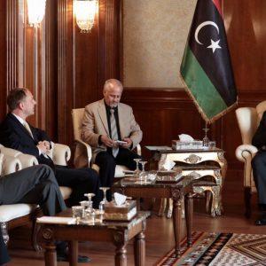 السراج يستقبل السفير الألماني لدى ليبيا
