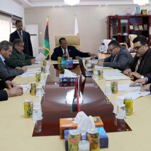 الاجتماع الثاني لـ«لجنة أعمال مدينة بنغازي» المختصة بتحديد المختنقات