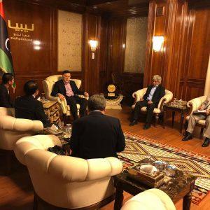 «السرّاج» يستقبل سفير إندونيسيا بمناسبة انتهاء فترة عمله في ليبيا