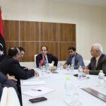 «معيتيق» في لقاء اجتماع لاستعراض الأوضاع الاقتصادية المالية والنقدية للدولة