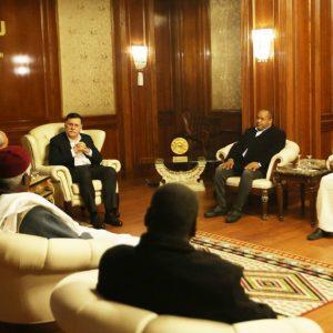«السرّاج» يستقبل رئيس المجلس المحلي تاورغاء وأعيان وحكماء المدينة