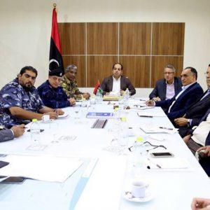 «معيتيق» وأعضاء مجلسي النواب والدولة يلتقون لمناقشة تأمين منطقة ورشفانة