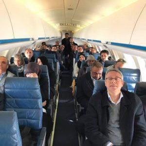 النائب «أيمن سيف النصر»: منعت طائرة الأمم المتحدة التي تقل 29 نائباً من طرابلس من الهبوط بمطار طبرق لدواعٍ أمنية بعد تحصلها على جميع الموافقات