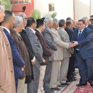 رئيس المجلس الأعلى للقضاء ووزير العدل يفتتحان محكمة ونيابة الماية الجزئية