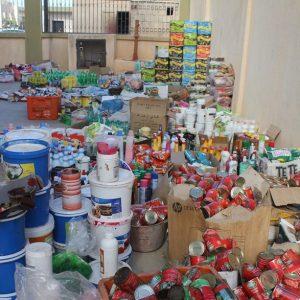 زليتن «الحرس البلدي» يضبط كميات من المواد الغذائيه منتهية الصلاحية