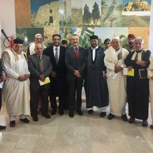 «السفير البريطاني» يقوم بأول زيارة إلى الزنتان
