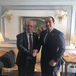 «معيتيق» يلتقي الوزير الإنجليزي للشرق الأوسط وشمال أفريقيا