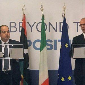 «معيتيق» من روما: نريد شريكاً حقيقياً لمكافحة الهجرة غير الشرعية والإرهاب