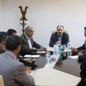 المدير التنفيذي لشركة الكهرباء يلتقي نُوَّاب عن منطقتي ورشفانة والعربان