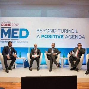 مستشارون و خبراء إقتصاد يشاركون في ملتقى حوار المتوسط بروما