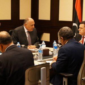 شكري : إجراءات شكلية ستنتهي قريباً لإعتماد محمد عبد العزيز سفيرًا لليبيا