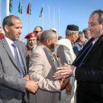 وزير الدفاع بحكومة الوفاق يزُور مدينة الزاوية