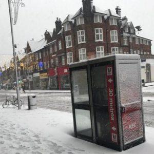 عاصفة ثلجية تجتاح «بريطانيا»