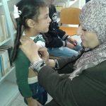 تواصل برنامج الكشف الطبي والتطعيم لتلاميذ المدارس في بنغازي