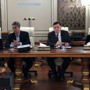 «السراج» يبحث مع لجنة مختصة للدعم التقني للاستحقاقات الانتخابية المقبلة