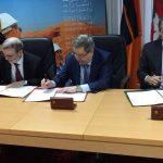 صنع الله يُوقِّع في الجزائر على دراسة مكمنية لحقل مشترك بين مؤسسة النفط و شركة سوناطراك