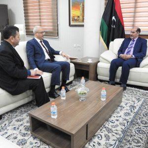 «كاجمان» يلتقي السفير التركي لدى «ليبيا»