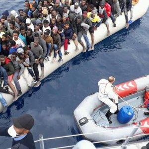 حرس السواحل يُنقذ 123 مهاجر غير شرعي شمال «القره بوللي»