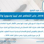 عام 2018، عام التعافي في ليبيا وسوريا واليمن
