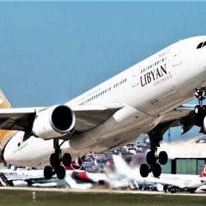 وزير المواصلات يبحث أزمات الشركة الليبية الأفريقية للطيران والشركات التابعة لها