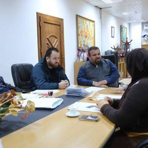 «أونيس» يجتمع بفريق حملة ليبيا السلام