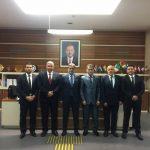 وفد من العدالة والبناء يزور حزب العدالة والتنمية التركي