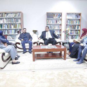 الهيئة العامة للثقافة تجتمع بمنسقي حملة «ليبيا السلام»