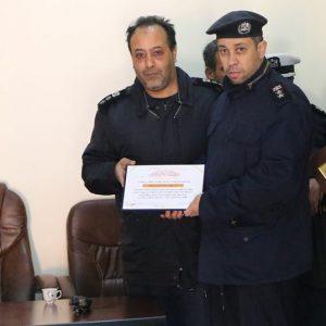 تكريم مديرية أمن شحات للعقيد «يونس عطية»