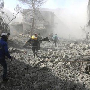 الجيش السوري.. دعوات للمدنيين بالرحيل من الغوطة الشرقية