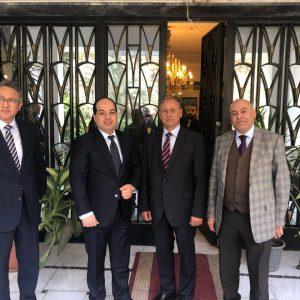 «معيتيق» يصل «القاهرة» ويلتقي السفير الليبي