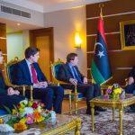 «السويحلي» يلتقي السفير البريطاني الجديد لدى «ليبيا»