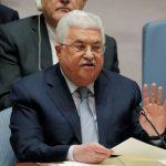 الرئيس الفلسطيني يدعو لعقد مؤتمر دولي للسلام في الشرق الأوسط