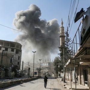 لليوم الخامس.... قصف جوي وصاروخي يستهدف الغوطة الشرقية قُرب دمشق