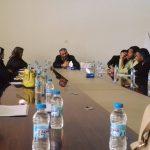 نقابة المهن الطبية المساعدة ببنغازي تعقد اجتماعا مع رؤساء هيئات التمريض بالمستشفيات والمراكز التخصصية