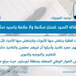 مما قاله السيد غسان سلامة ولا ملامة ياسيد سلامة