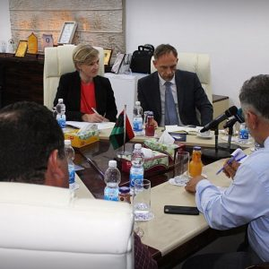 «قنصو» يجتمع بالسفير الألماني لدى ليبيا