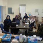 «»تواصل دورة تمريض الطوارئ بمركز بنغازي الطبي