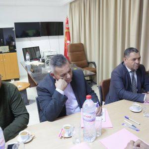 بلدية زوارة تلتقي مع المسؤولين عن الجانب التونسي من منفذ رأس جدير الحدودي
