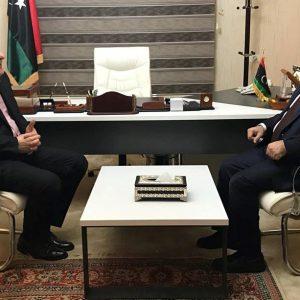 لقاء بين المشري والسراج يبحث مستجدات الوضع السياسي في ليبيا