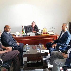 لقاء يجمع بلدي مصراتة وبلدي غدامس لمناقشة تبادل الخبرات بين الطرفين