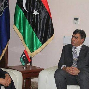 وزير الداخلية يلتقي سفير كوريا الجنوبية لدي ليبيا