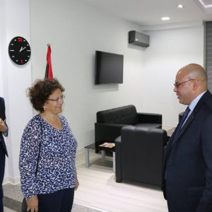 المجبري يلتقي سفيرة فرنسا والأخيرة تؤكد دعم بلادها لتثبيت الاستقرار في ليبيا