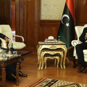 السراج يبحث مع سفير باكستان تطوير وتنمية العلاقات الثنائية بين البلدين