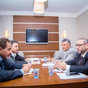 إجتماع بمجلس الدولة لمناقشة أزمة السيولة ومعالجة فروقات سعر الصرف